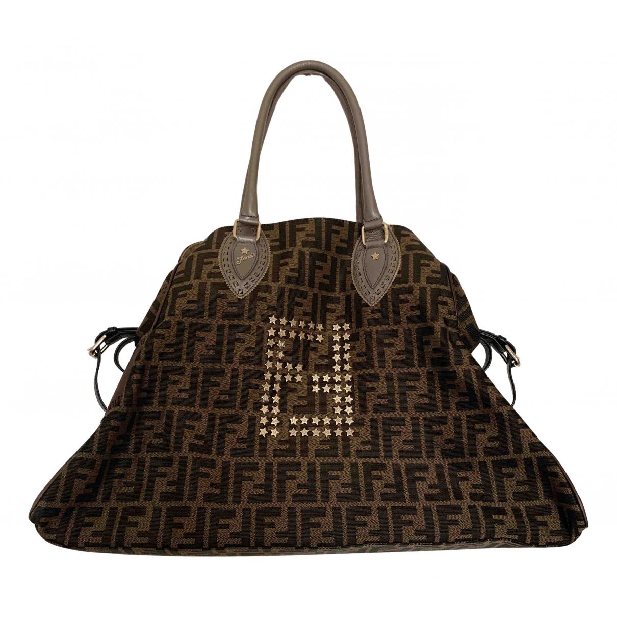 Fendi N Brown Cloth handbag for Women N
