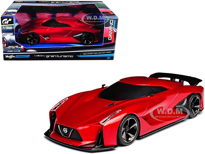 2020 Nissan Concept Vision Gran Turismo Red