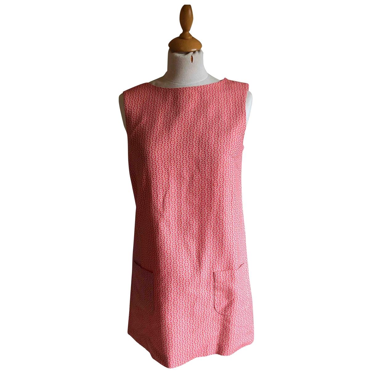 Acquaverde \N Kleid in  Rosa Baumwolle