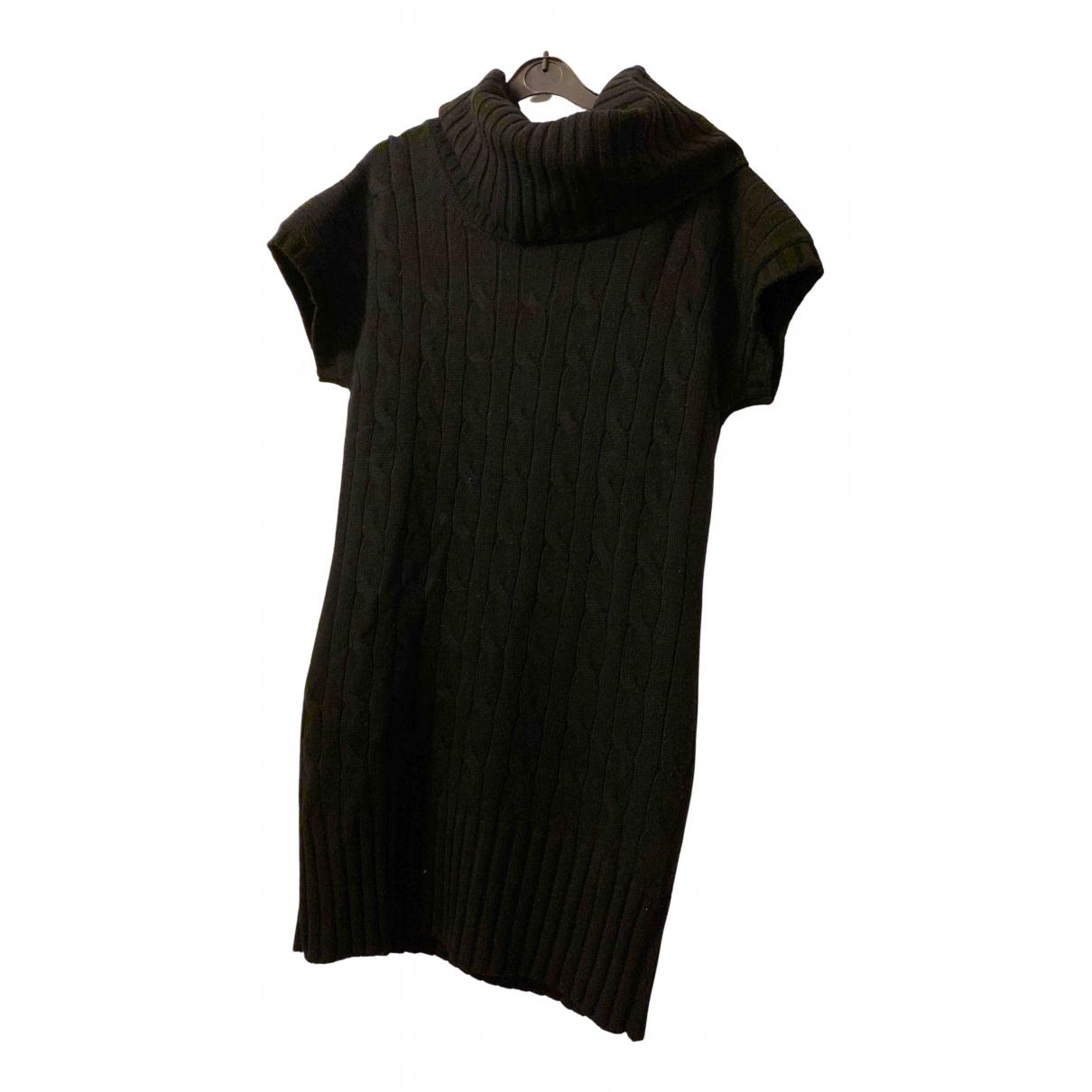 Fay - Robe   pour femme en laine - noir