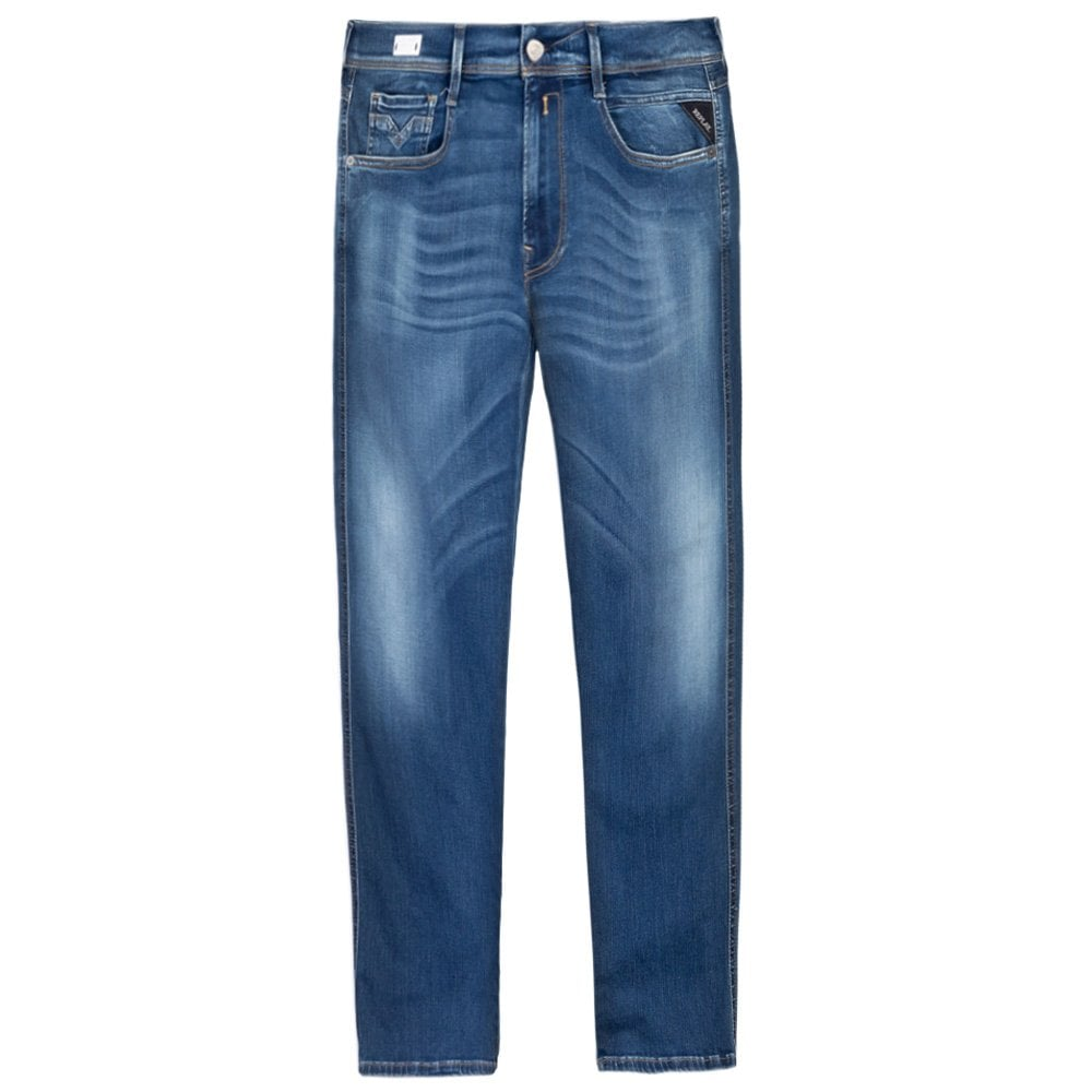 Replay Hyperflex Bio Jeans Light Blue Colour: LIGHT BLUE, Size: 34 30