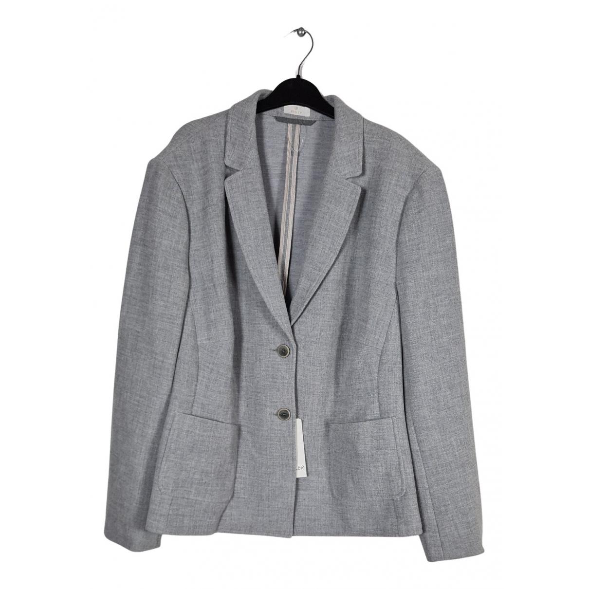 Basler \N Jacke in  Grau Polyester
