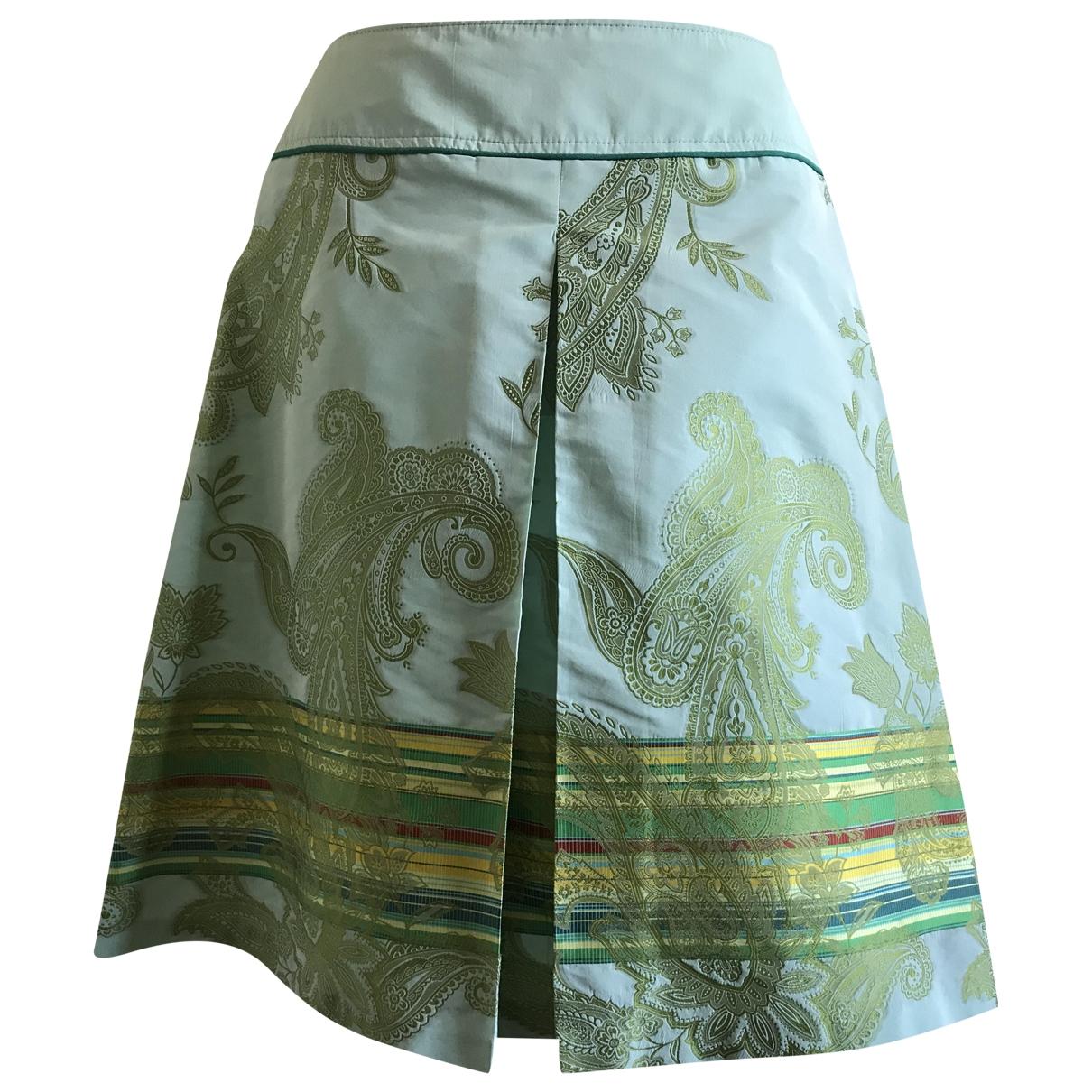 Sand \N Green skirt for Women 12 UK