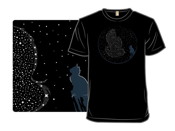 Reaching The Stars T Shirt