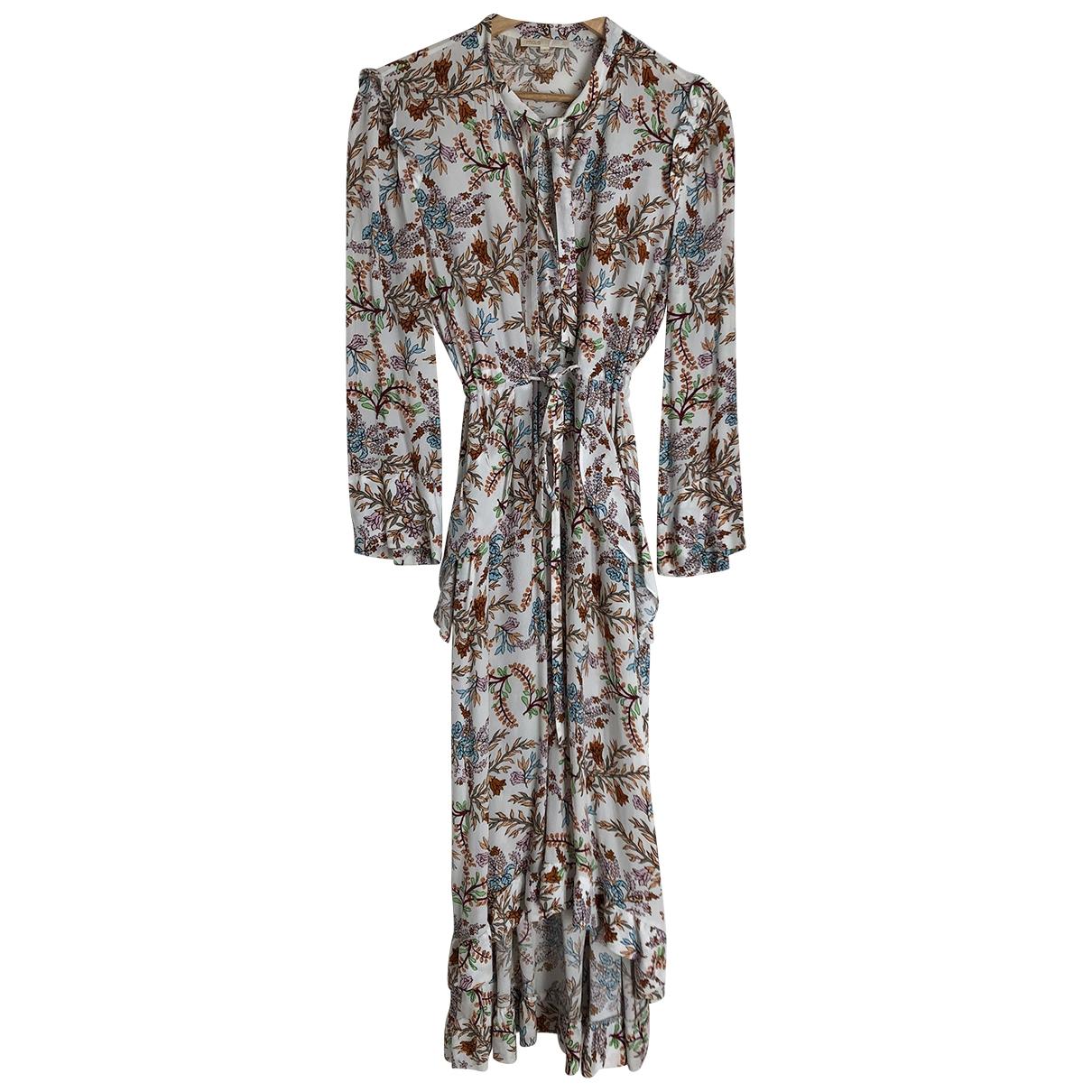 Maje Spring Summer 2019 Multicolour dress for Women 40 FR