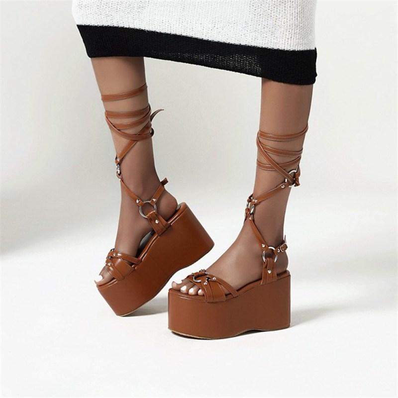 Ericdress Open Toe Slip-On Casual Sandals