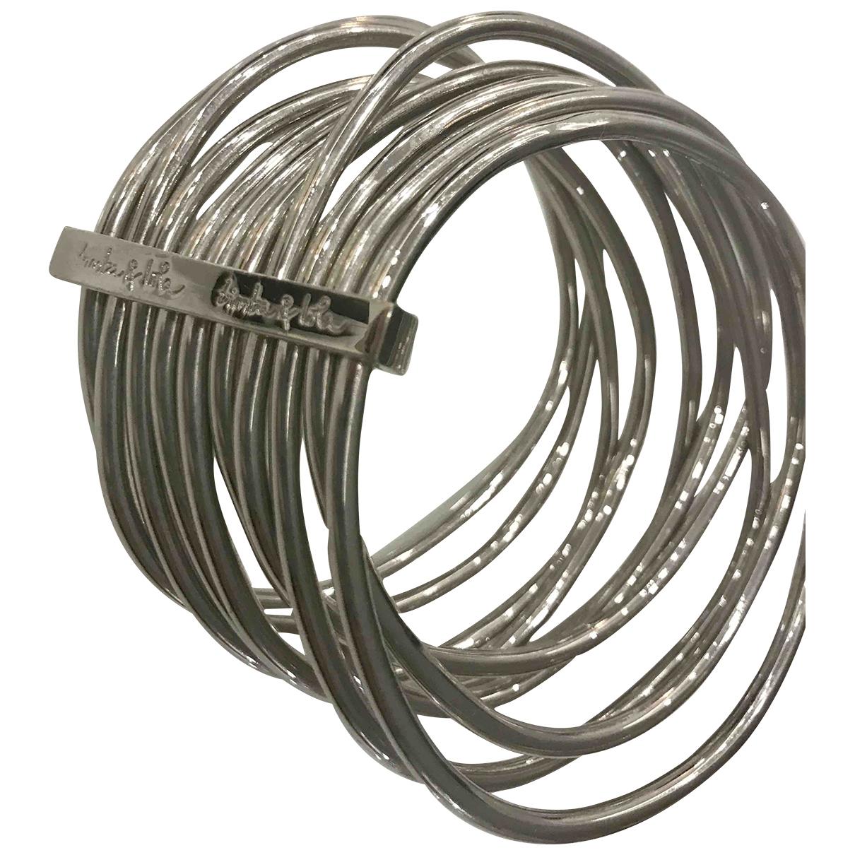 Bimba Y Lola \N Armband in  Silber Metall