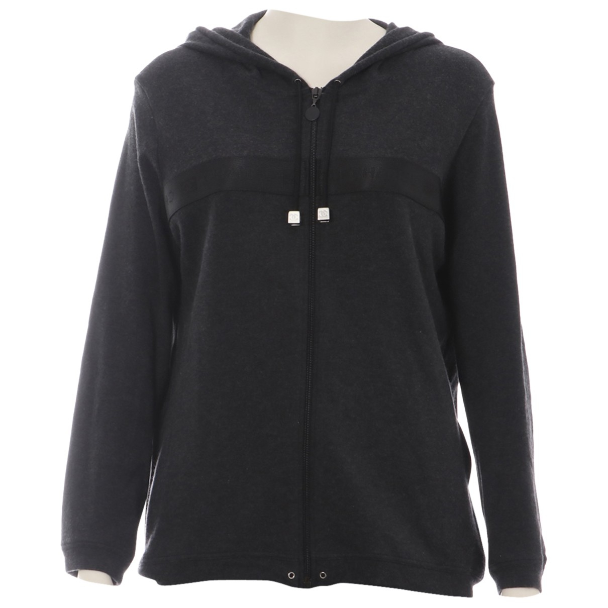 Chanel N Grey Cotton  top for Women 42 FR