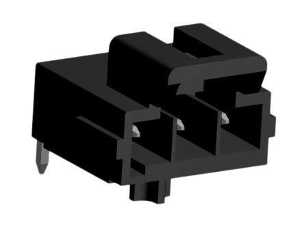 Molex , Ultra-Fit, 172310, 3 Way, 1 Row, Right Angle PCB Header (5)