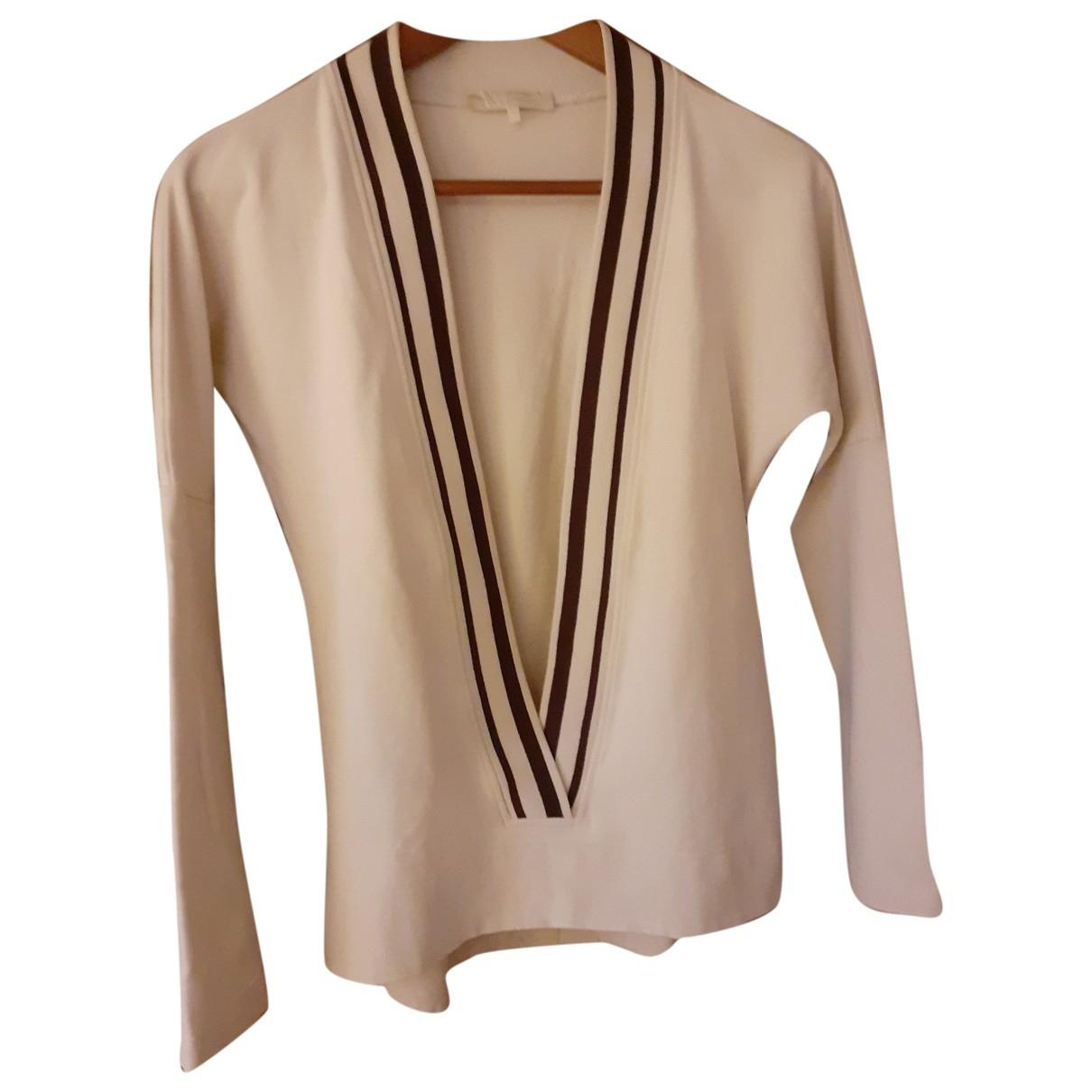 Max Mara 's \N Ecru Cotton Knitwear for Women M International