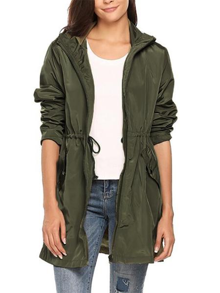 Yoins Kidsform Hooded Design Long Sleeves Jacket