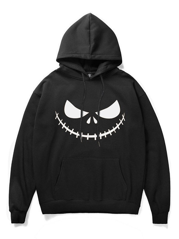 Halloween Scary Pumpkin Face 3D Print Fashion Hoodie for Man and Woman