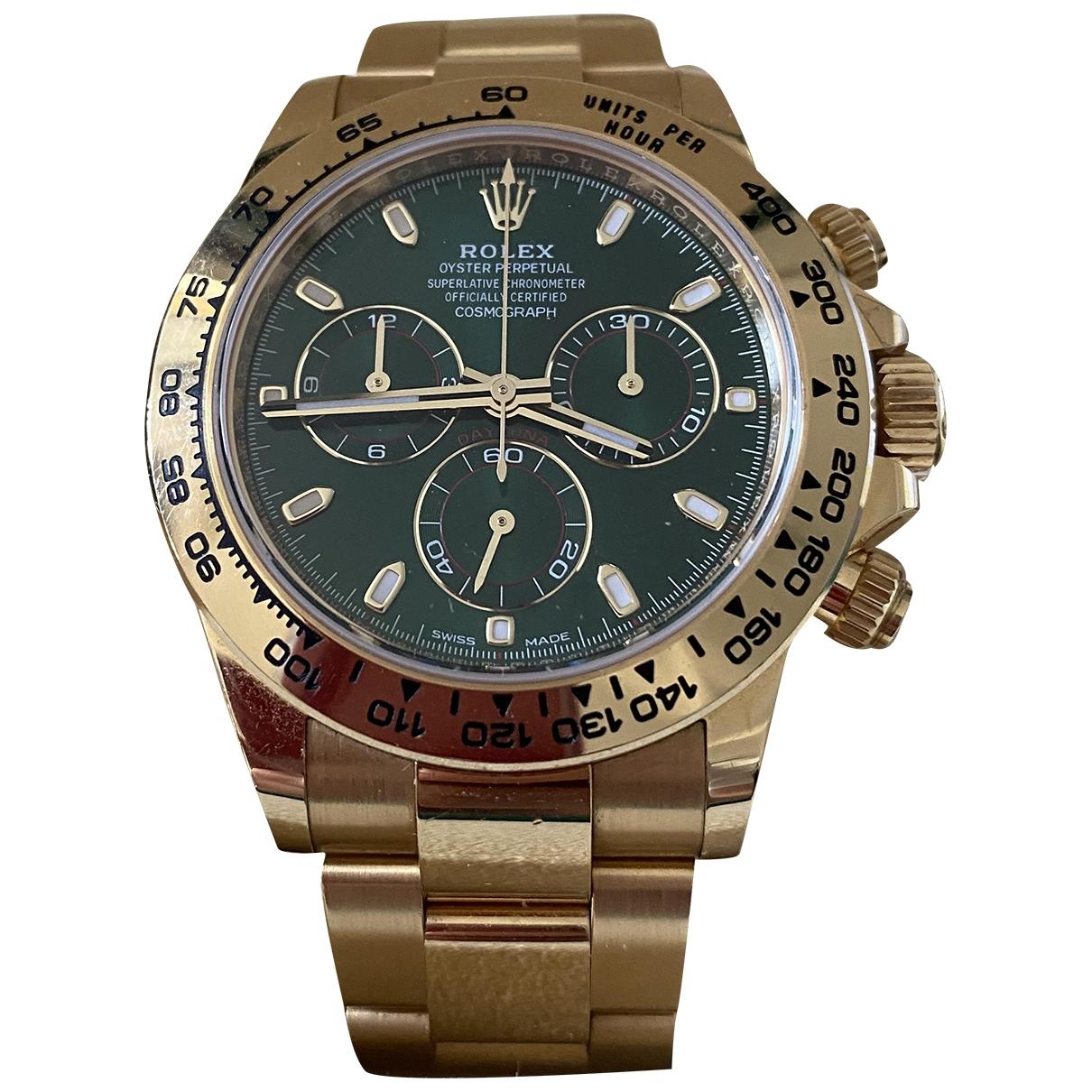 Relojes Daytona de Oro amarillo Rolex