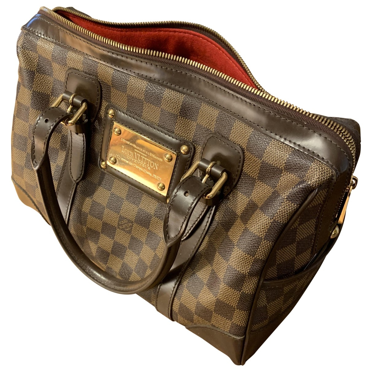 Louis Vuitton Berkeley Brown Cloth handbag for Women \N