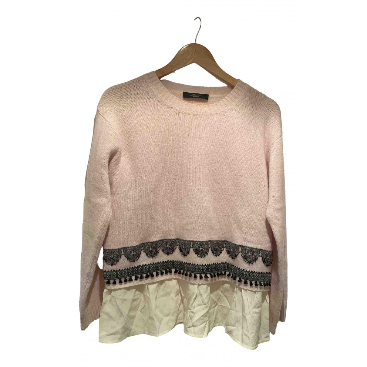 Max Mara Weekend \N Beige Wool Knitwear for Women L International