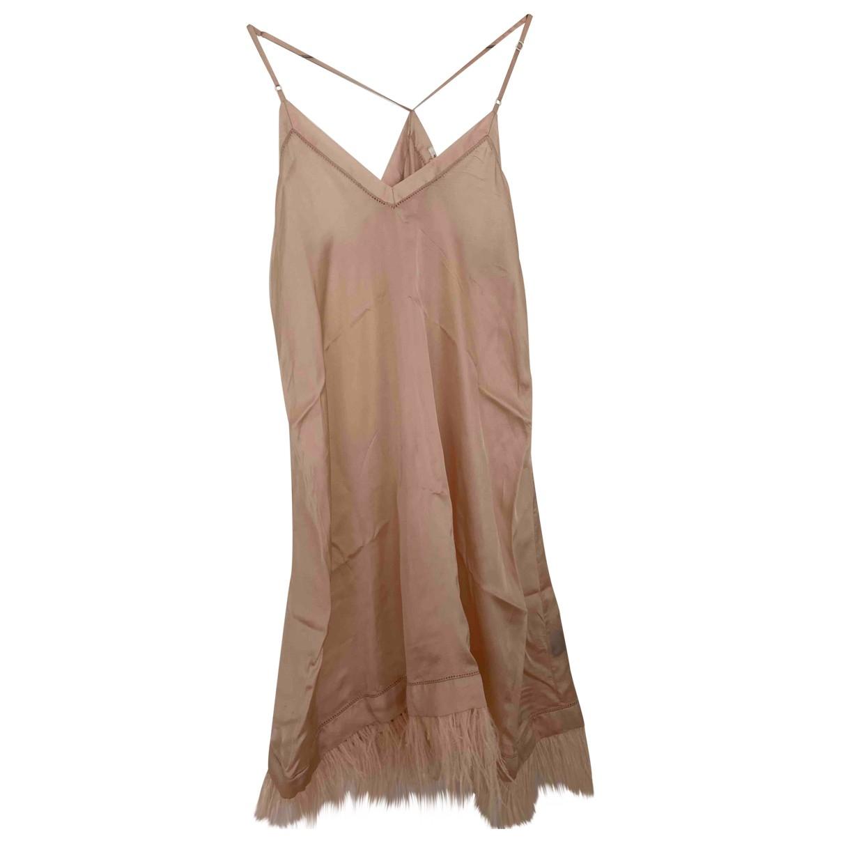 Isabel Marant Etoile \N Kleid in  Rosa Viskose