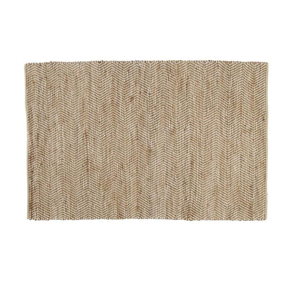 Teppich aus Baumwolle und Jute 160x230