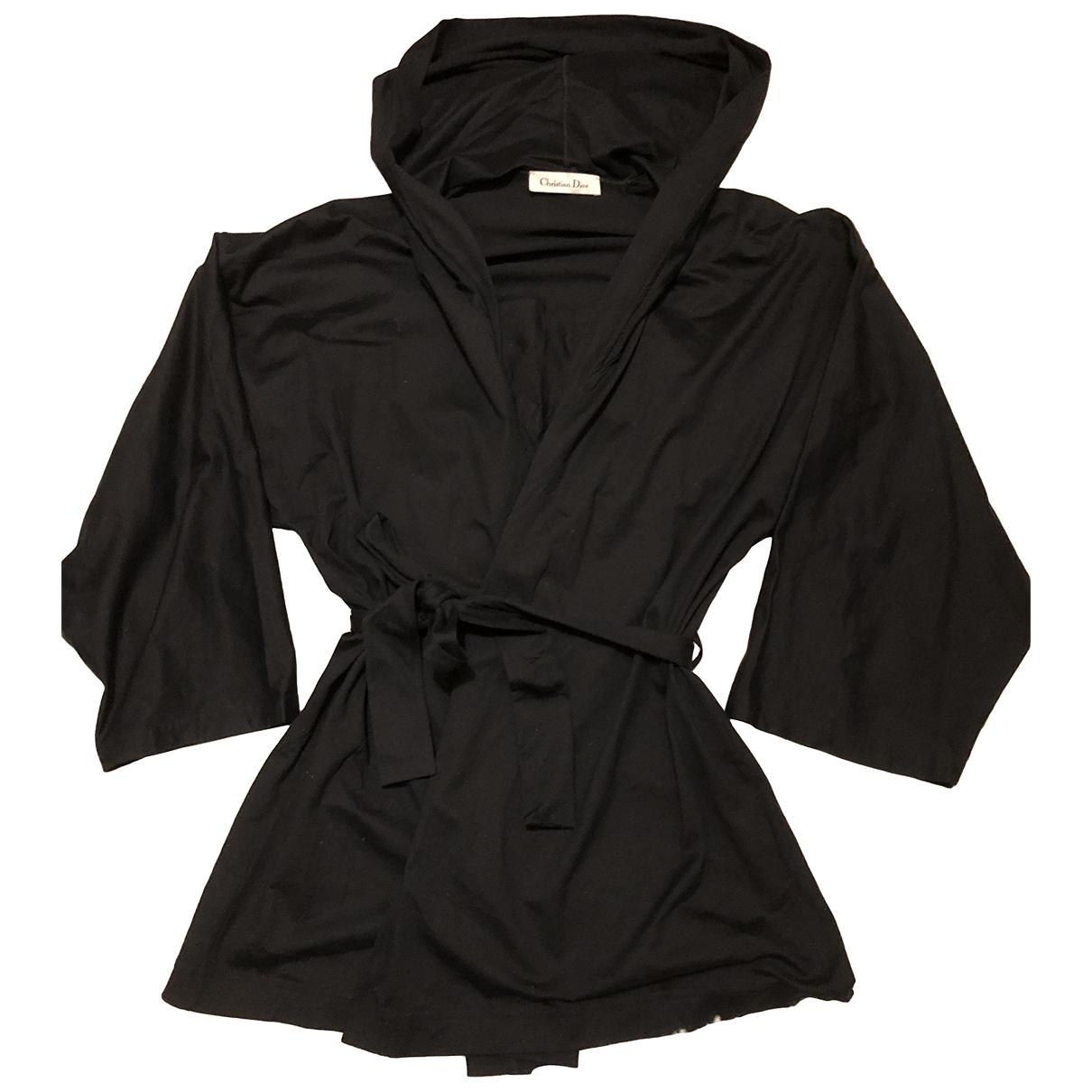 Dior - Top   pour femme en coton - noir