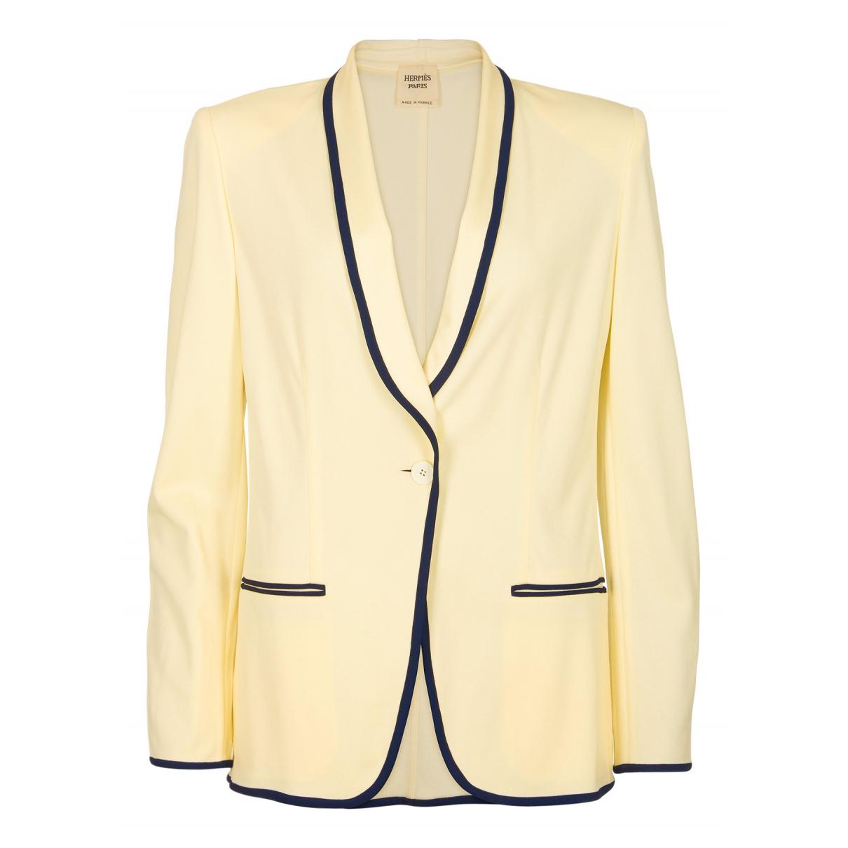 Hermès N Beige jacket for Women 14 UK