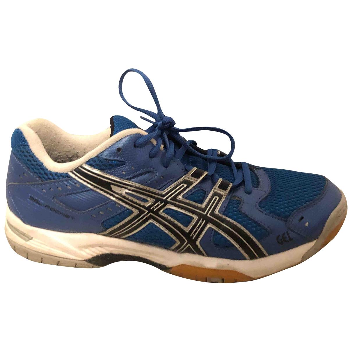Asics \N Sneakers in  Blau Kautschuk
