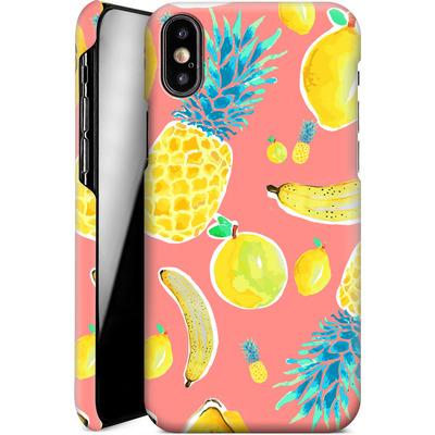 Apple iPhone XS Smartphone Huelle - Fruit Love von Mukta Lata Barua