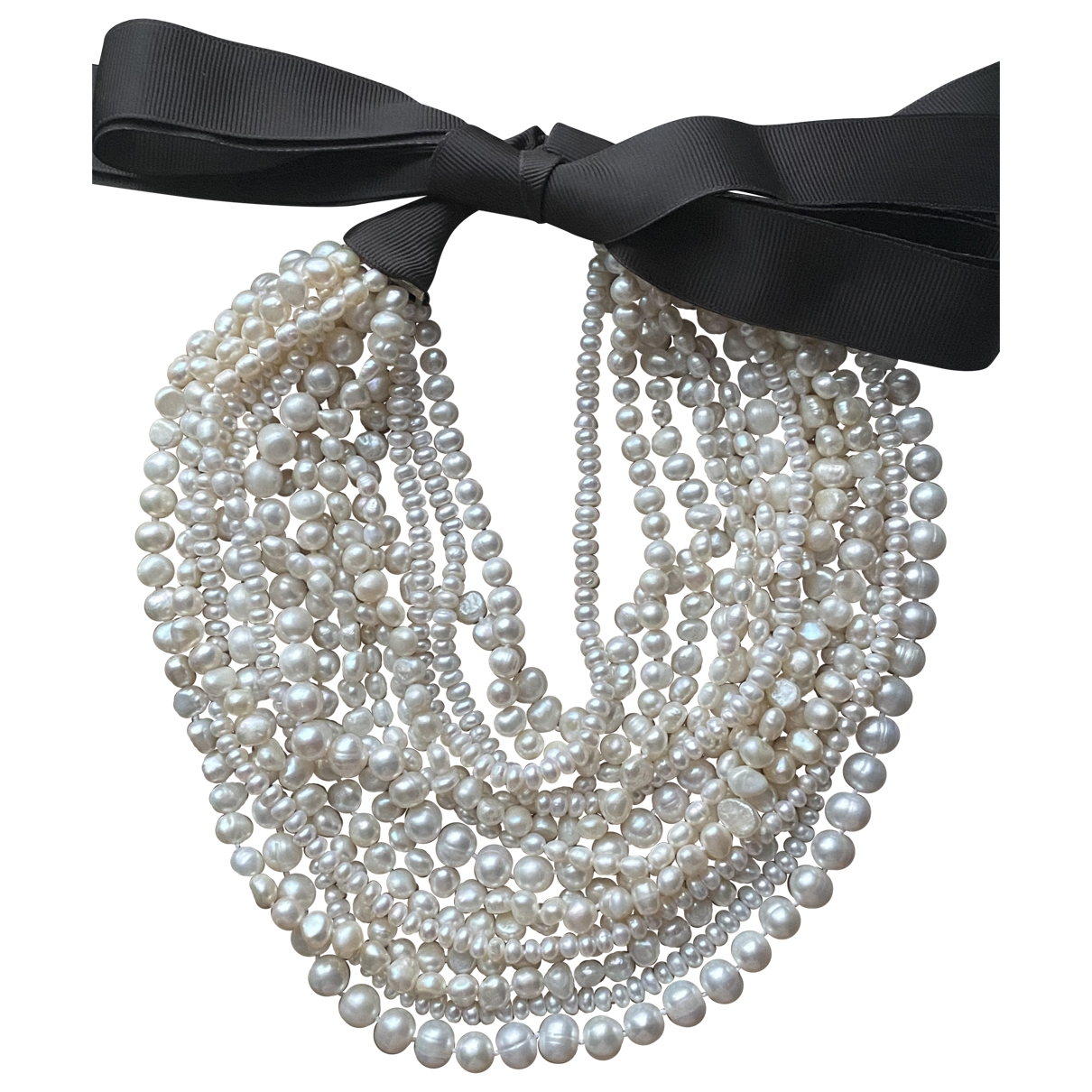 Collar Art Deco de Perlas Non Signe / Unsigned