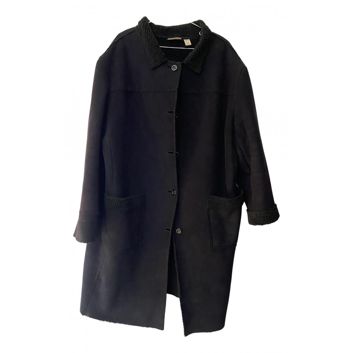 Non Signé / Unsigned N Beige coat for Women XXL International