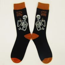 Skull Pattern Socks