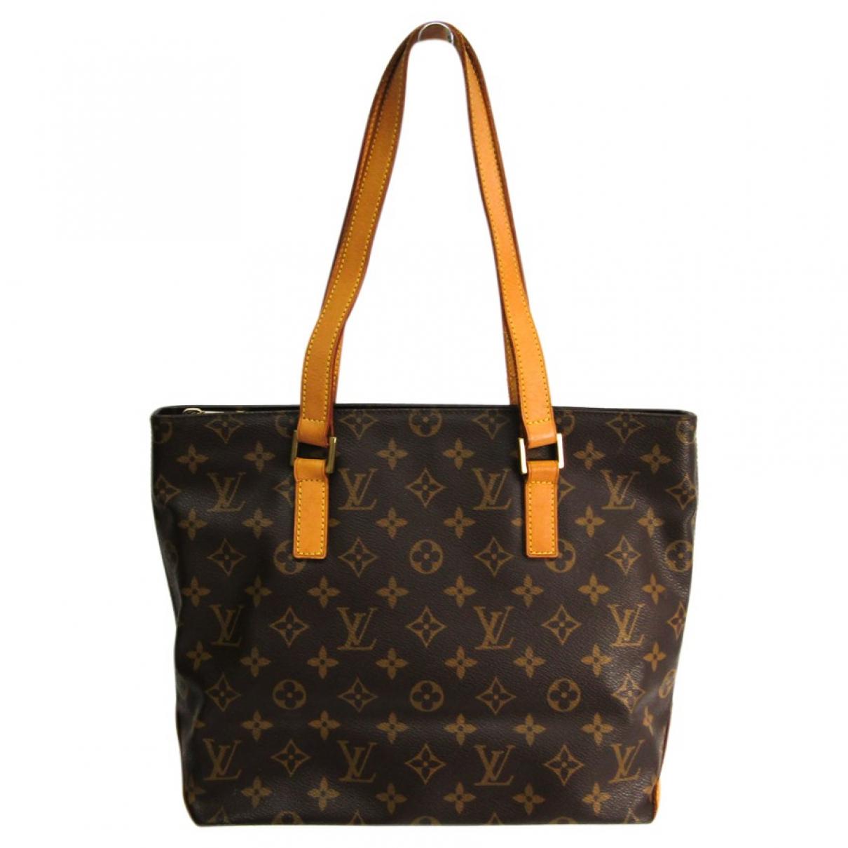 Louis Vuitton Piano Brown Cloth handbag for Women N
