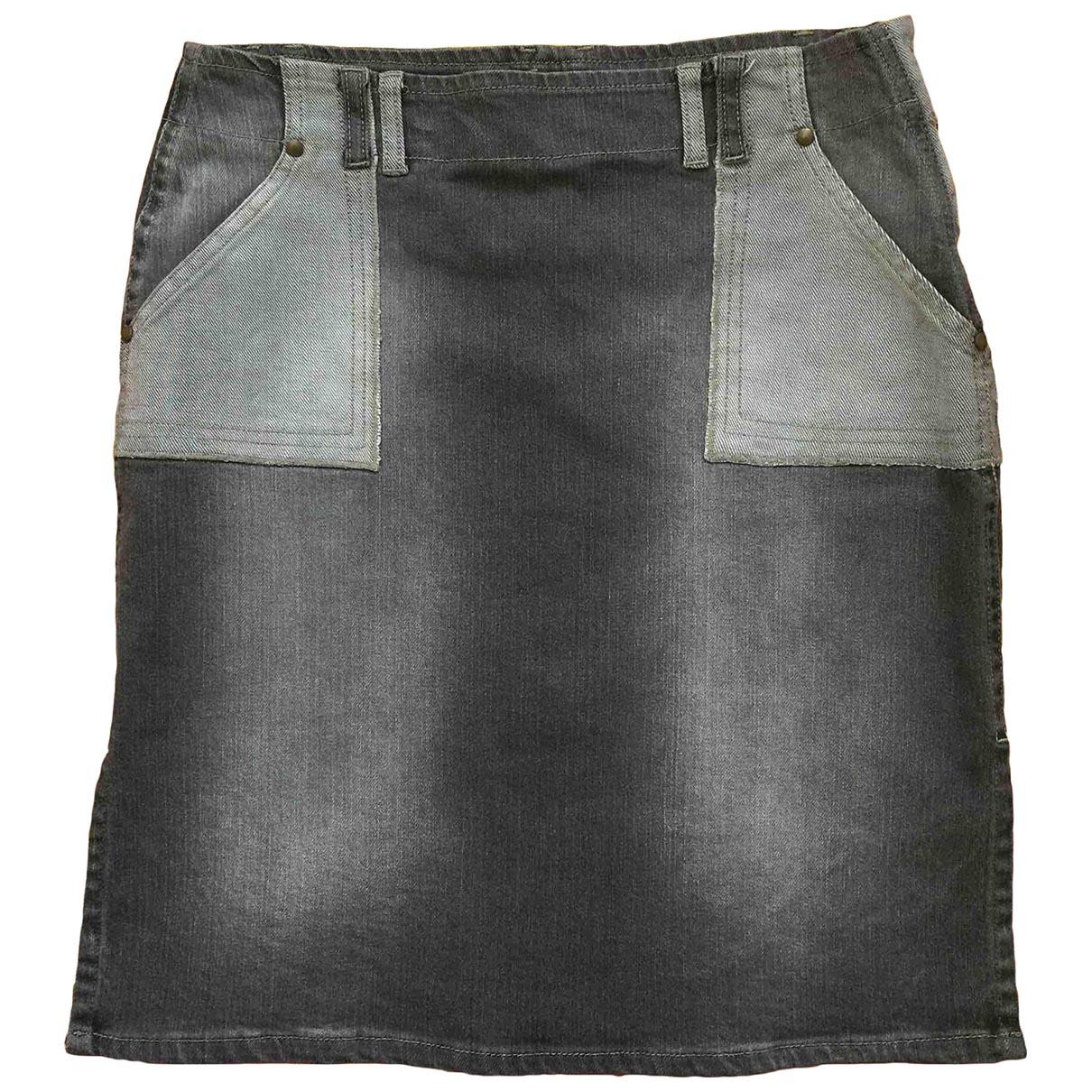 Replay \N Rocke in  Grau Denim - Jeans