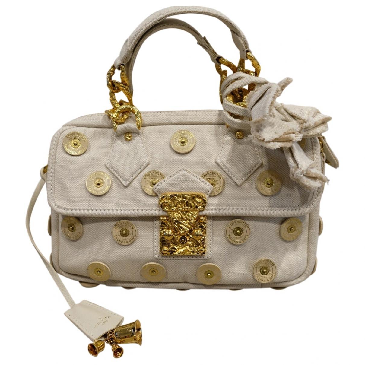 Louis Vuitton \N White Cotton handbag for Women \N