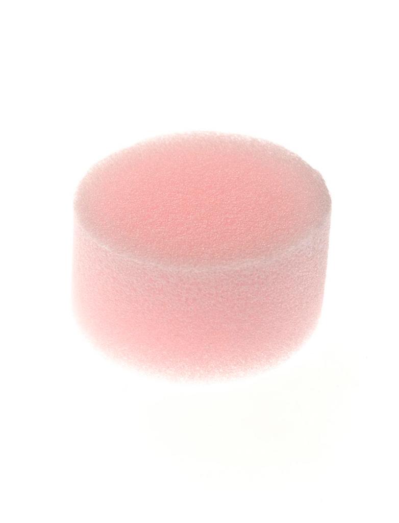 Schwamm feinporig Schminke fuer Karneval & Fasching Farbe: rosa