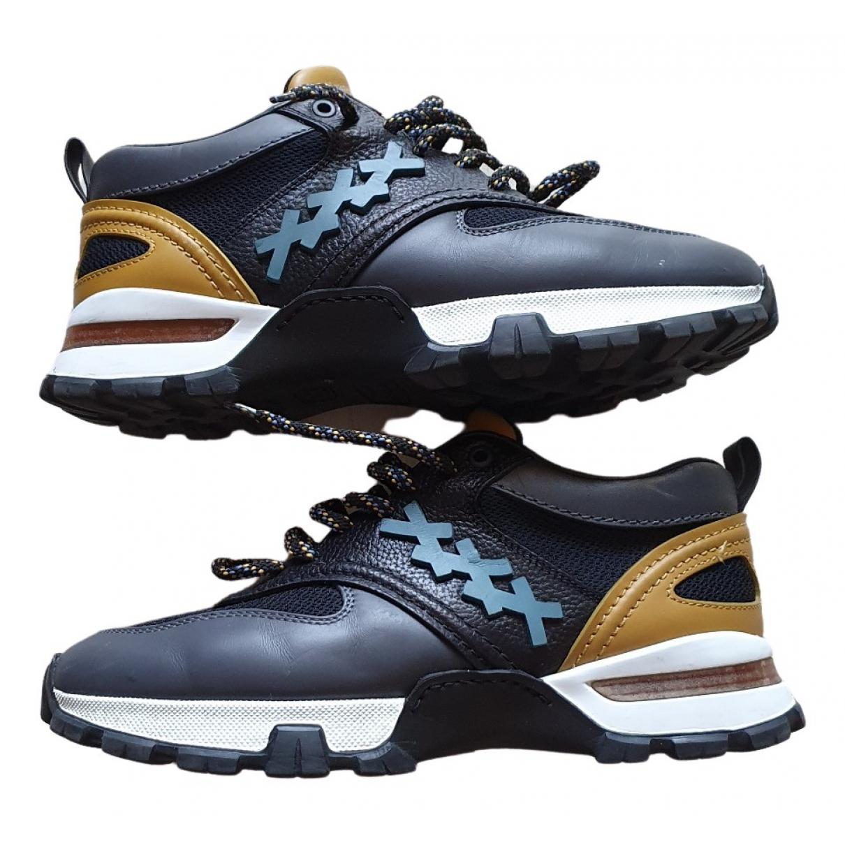 Ermenegildo Zegna \N Sneakers in  Bunt Leder