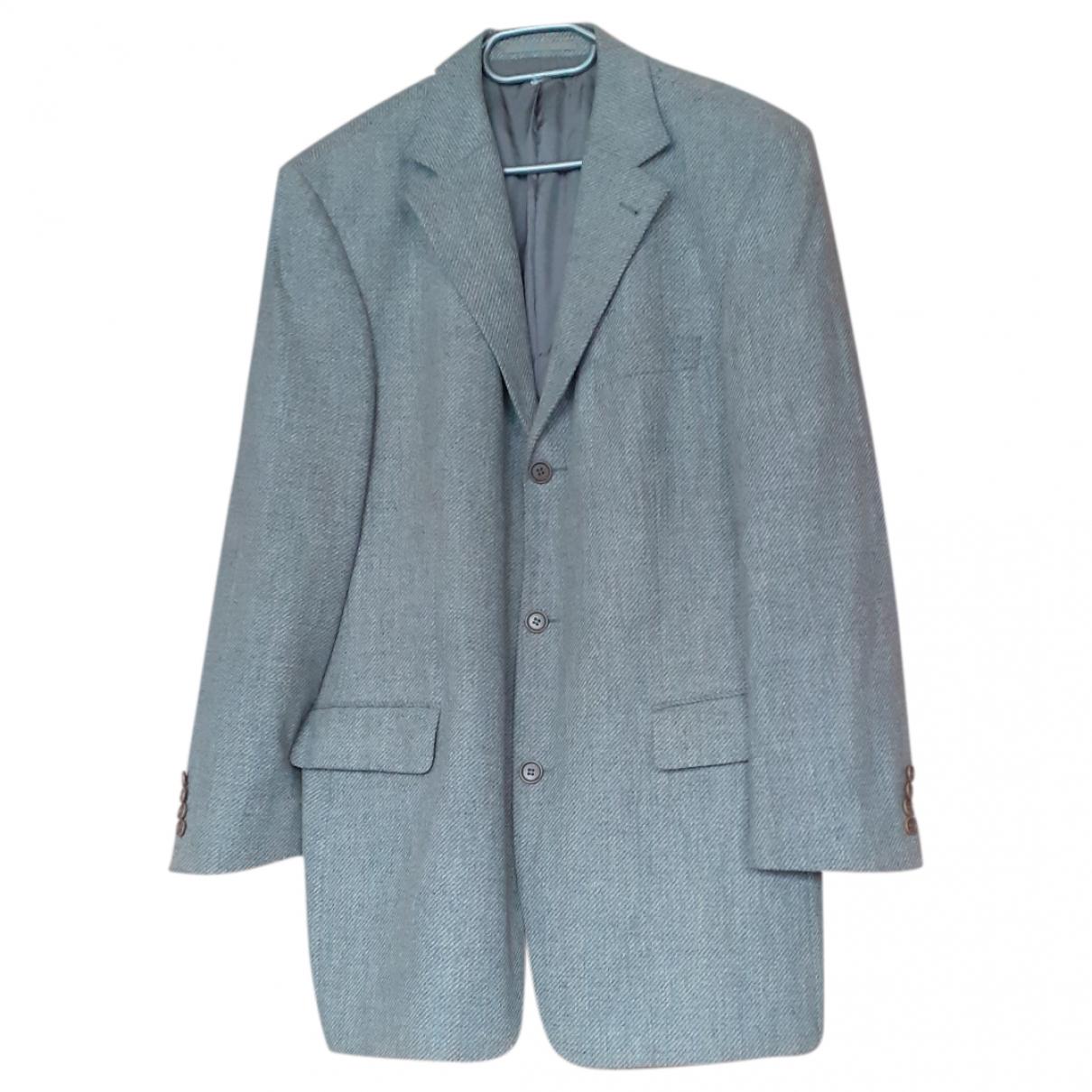 Boss - Vestes.Blousons   pour homme en laine - gris