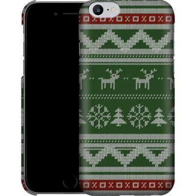 Apple iPhone 6 Plus Smartphone Huelle - Norwegian Jumper Green von caseable Designs