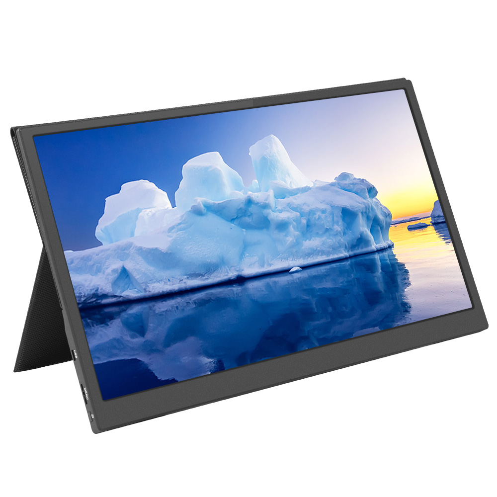 JRY-W5BFHD-EV1 Portable Monitor 15.6 Inch IPS HDR 1920*1080 Resolution Type-C+mini HDMI