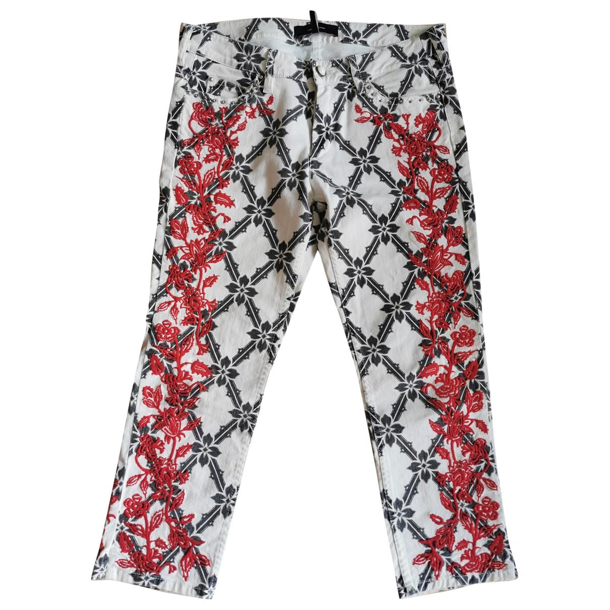 Isabel Marant \N Multicolour Denim - Jeans Trousers for Women 40 FR
