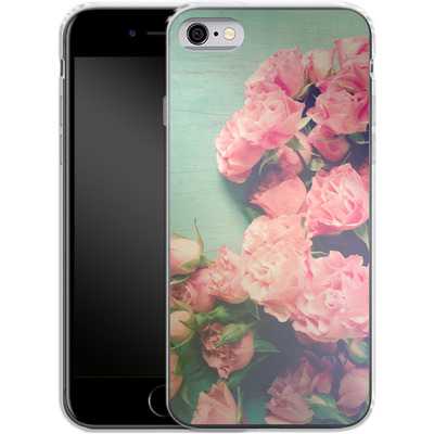 Apple iPhone 6 Silikon Handyhuelle - Garden Party von Joy StClaire
