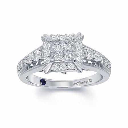 Enchanted Disney Fine Jewelry 3/4 C.T. T.W. Diamond 14K White Gold