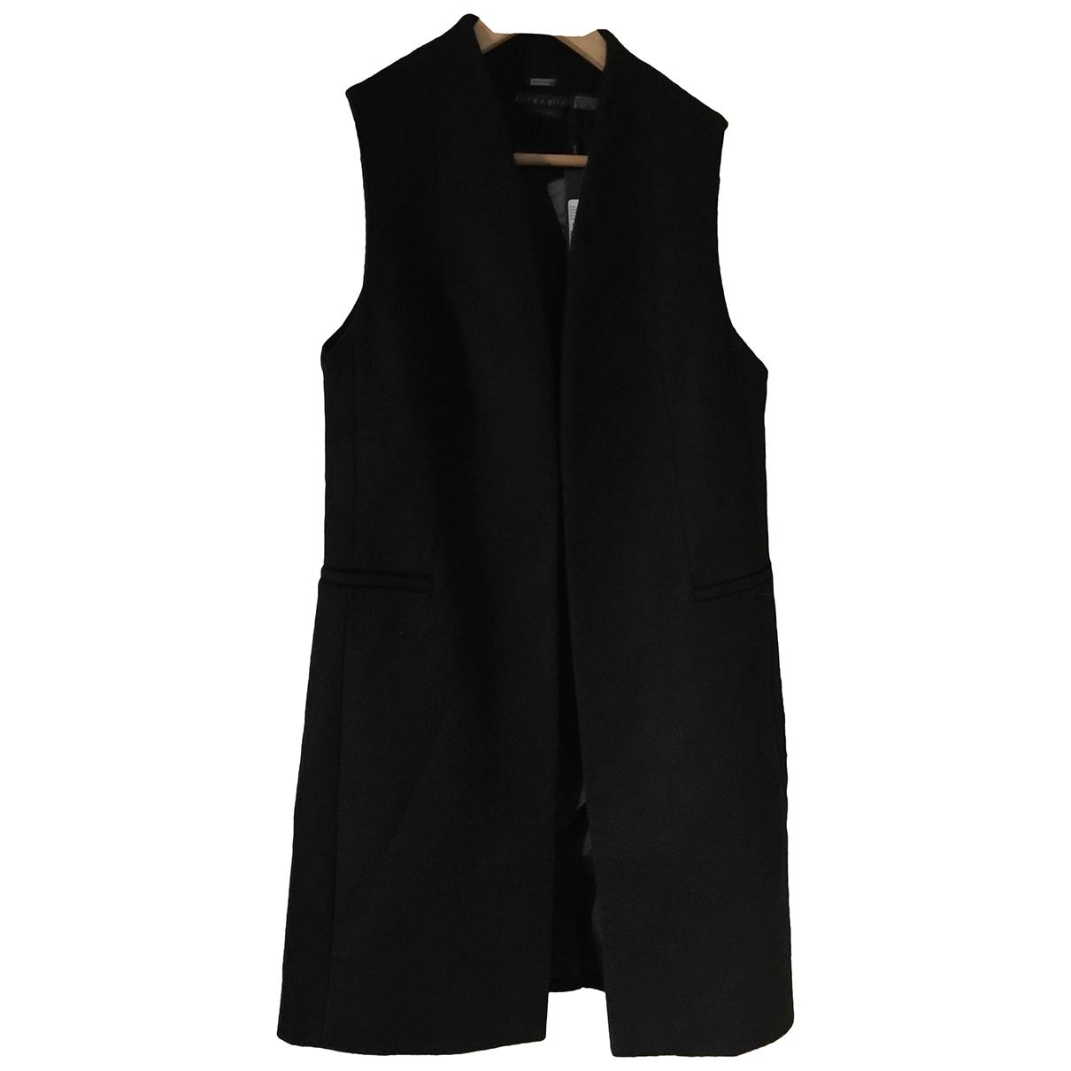 Alice & Olivia \N Black Wool coat for Women M International