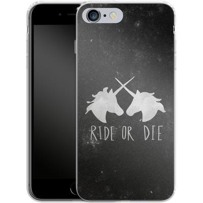 Apple iPhone 6s Plus Silikon Handyhuelle - Ride or Die von Leah Flores