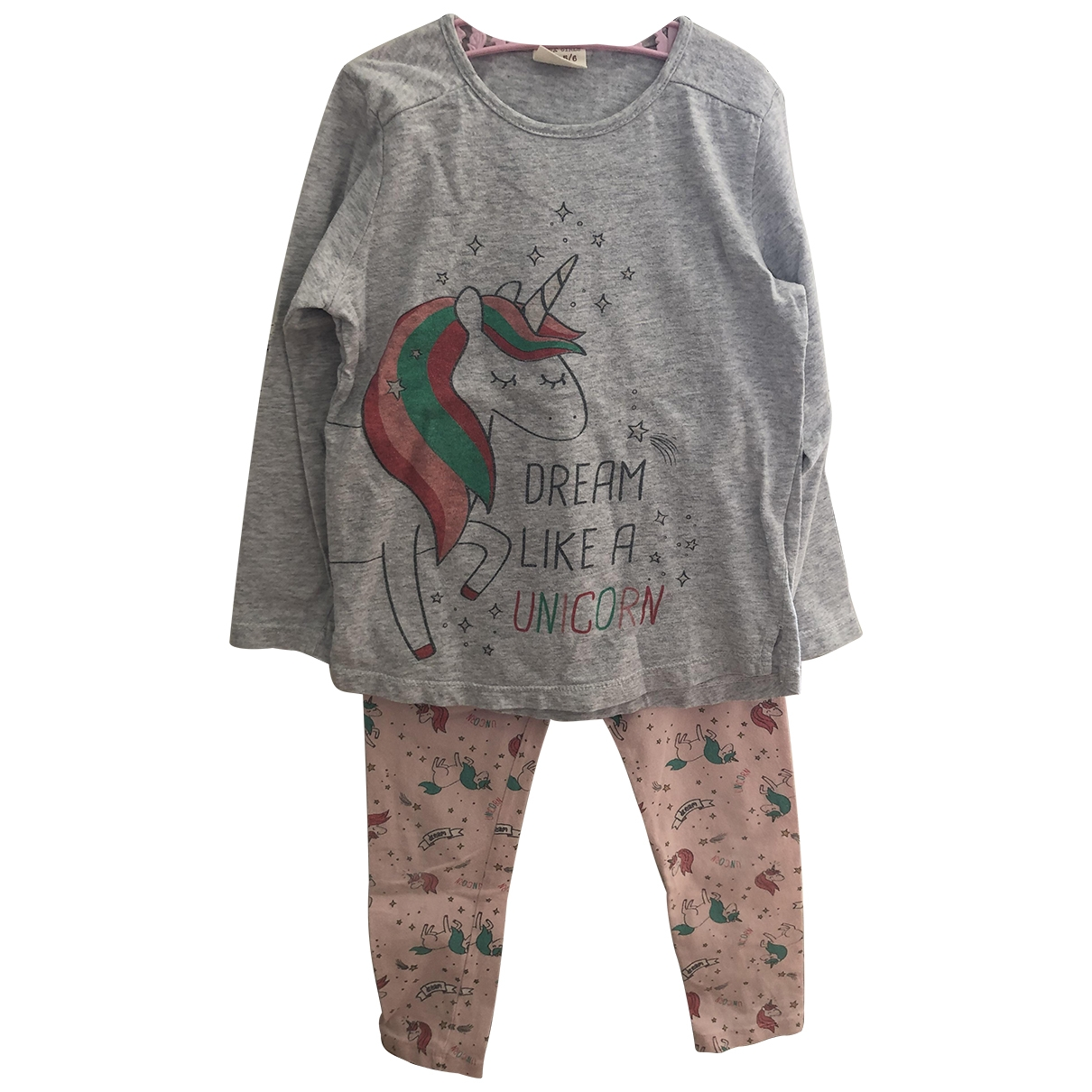 Zara \N Pink Cotton Outfits for Kids 5 years - up to 108cm FR