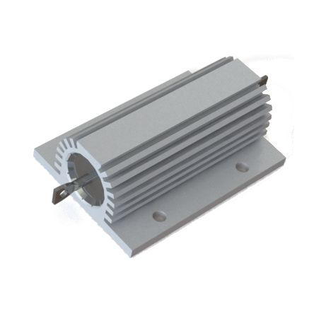 RS PRO Aluminium Housed Wire Wound Panel Mount Resistor, 1.2kΩ ±5% 100W