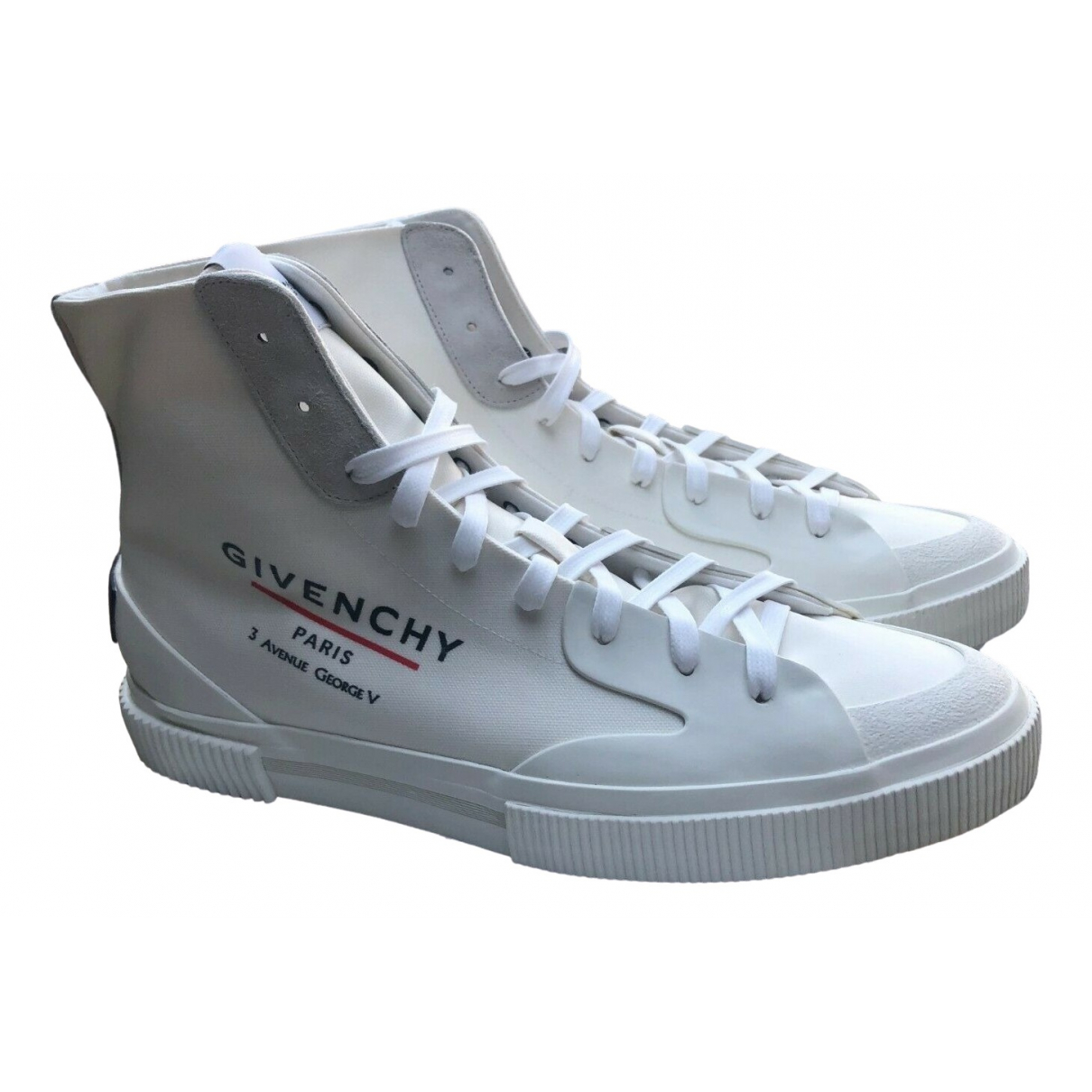 Givenchy \N White Cloth Trainers for Men 41 EU