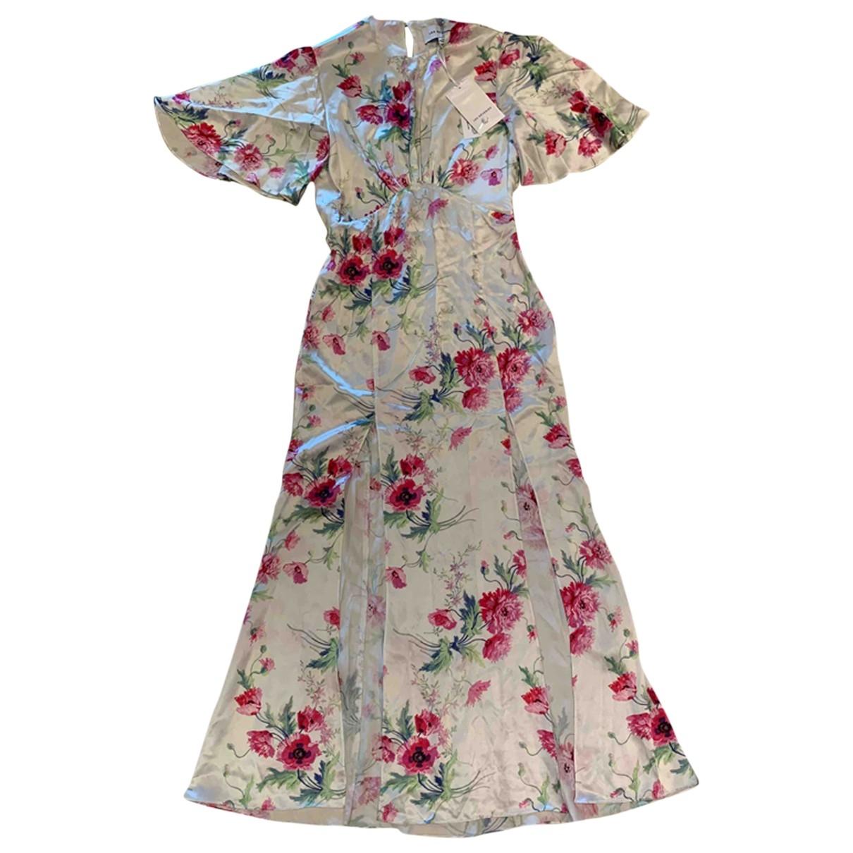 Les Reveries \N Kleid in  Bunt Seide