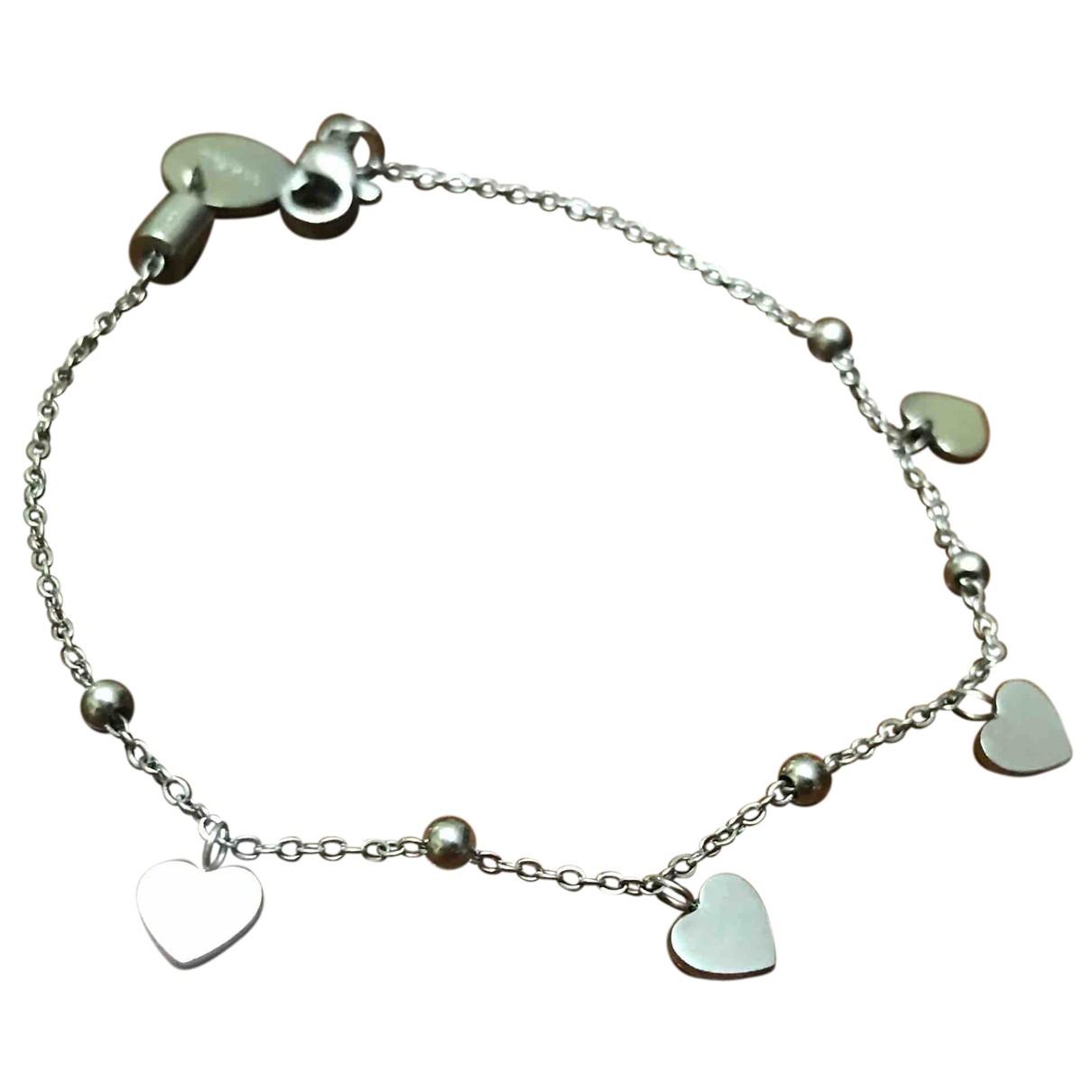 Autre Marque - Bracelet   pour femme en acier - argente