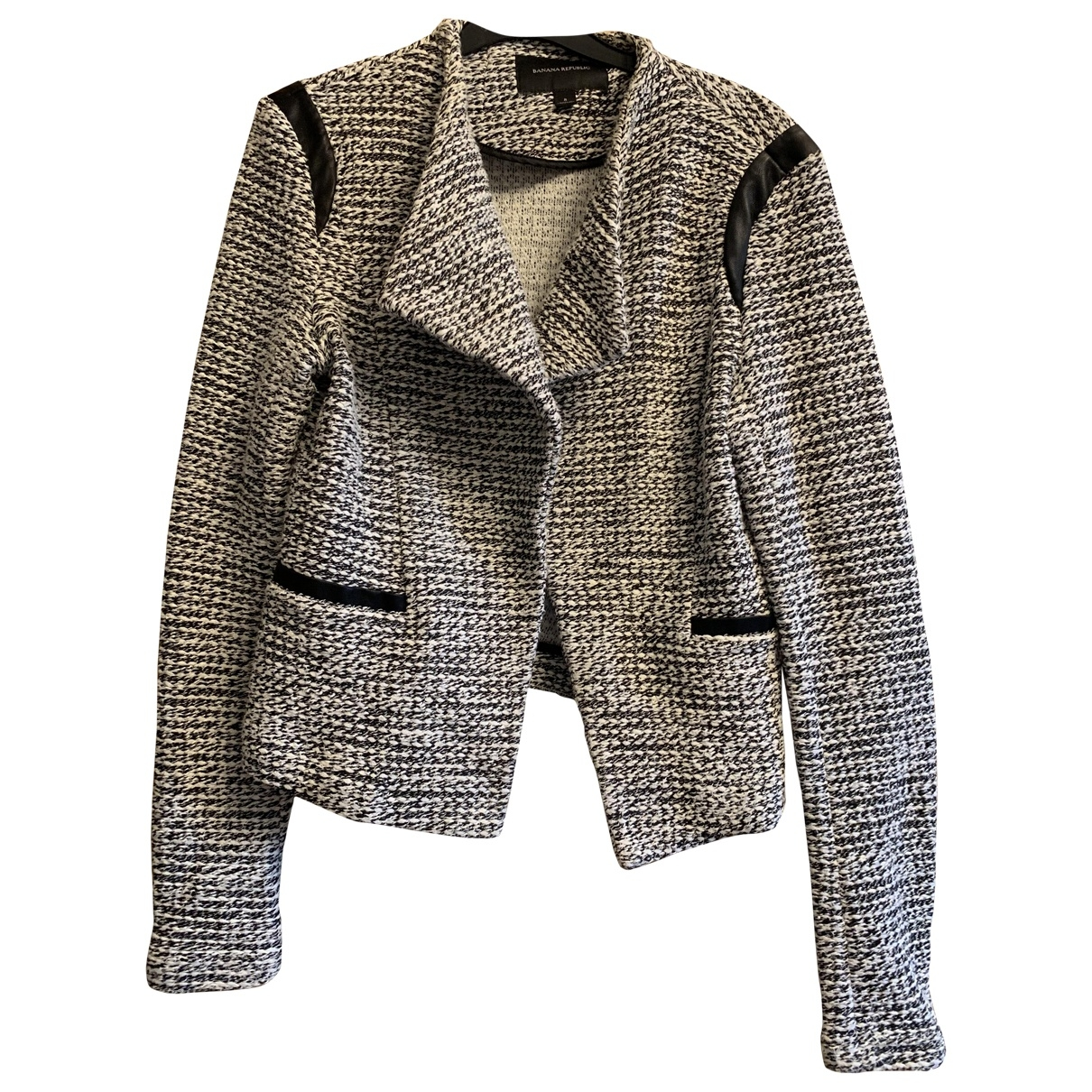 Banana Republic \N Grey Tweed jacket for Women 8 UK