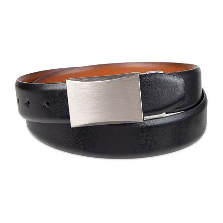 JF J.Ferrar Reversible Stretch Men's Belt, Small , Black