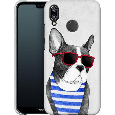 Huawei P20 Lite Smartphone Huelle - Frenchie Summer Style von Barruf