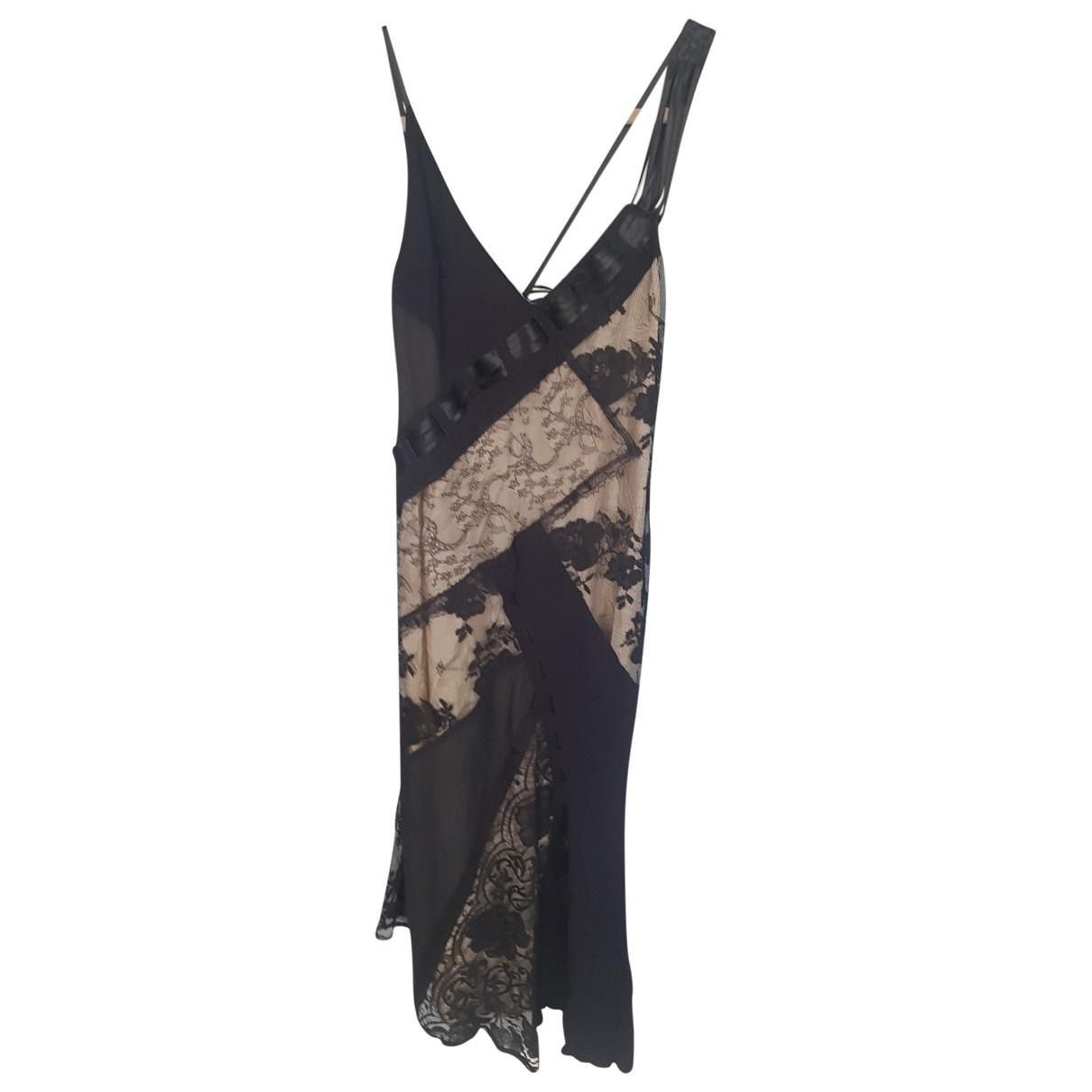Karen Millen \N Kleid in  Beige Spitze